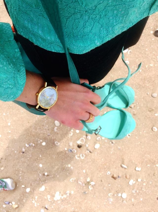 Montre Miniinthebox, Sandalettes Vet'Affaires