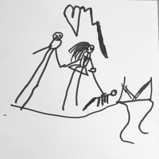 Recevoir un dessin d'enfant...