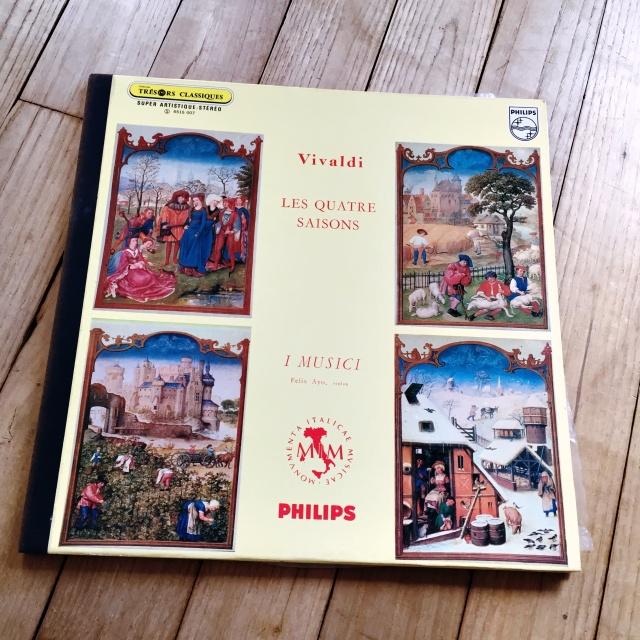 """Vinyle """"Les Quatre Saisons"""" Vivaldi - 1 euro"""