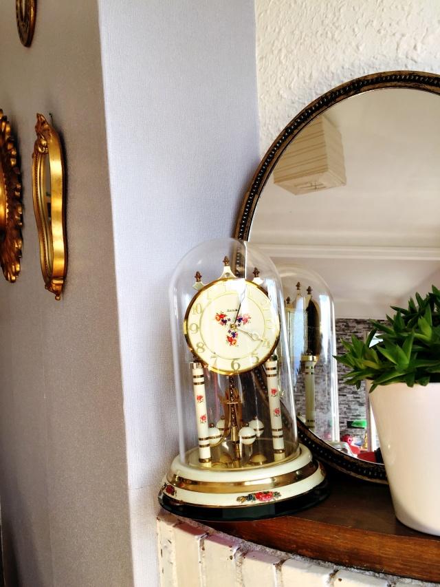 Pendule vintage - 2 euros