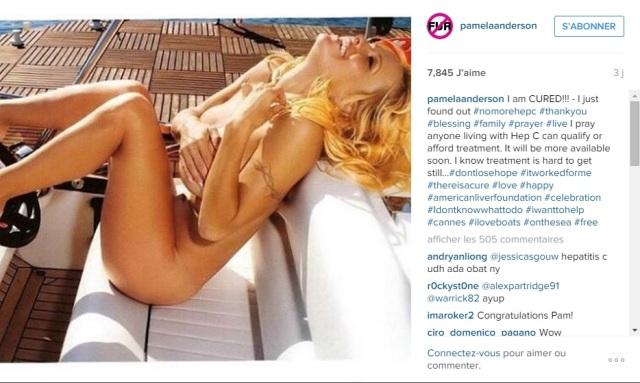Instagram de Pamela -