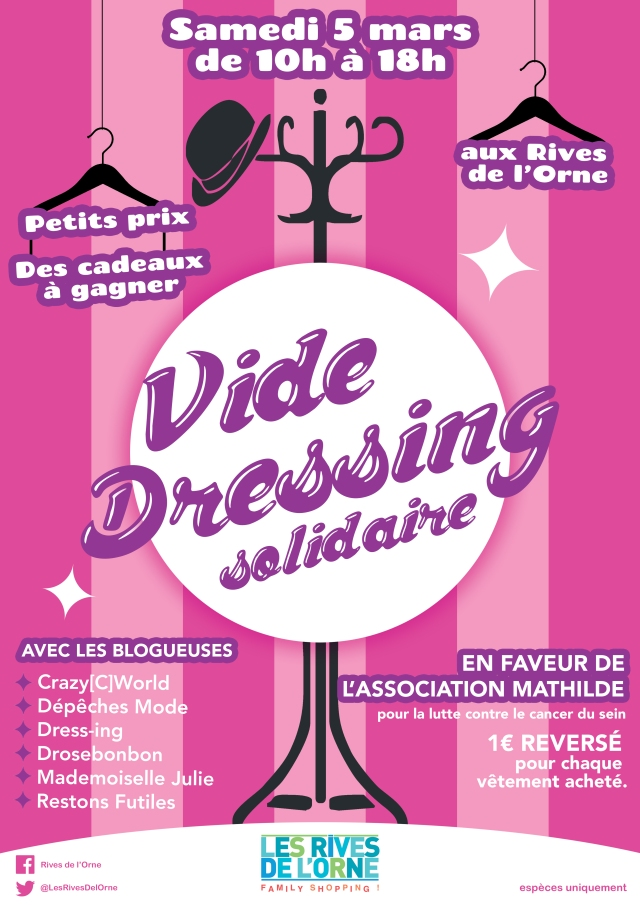 vide dressing solidaire RVB